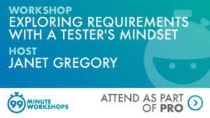 Ministry of Testing 99-min workshop